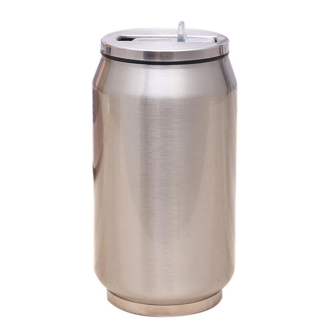 Cola can tin 12oz cola can double wall vacuum insulated stainless steel tumbler cup cola can 304 double wall travel mug