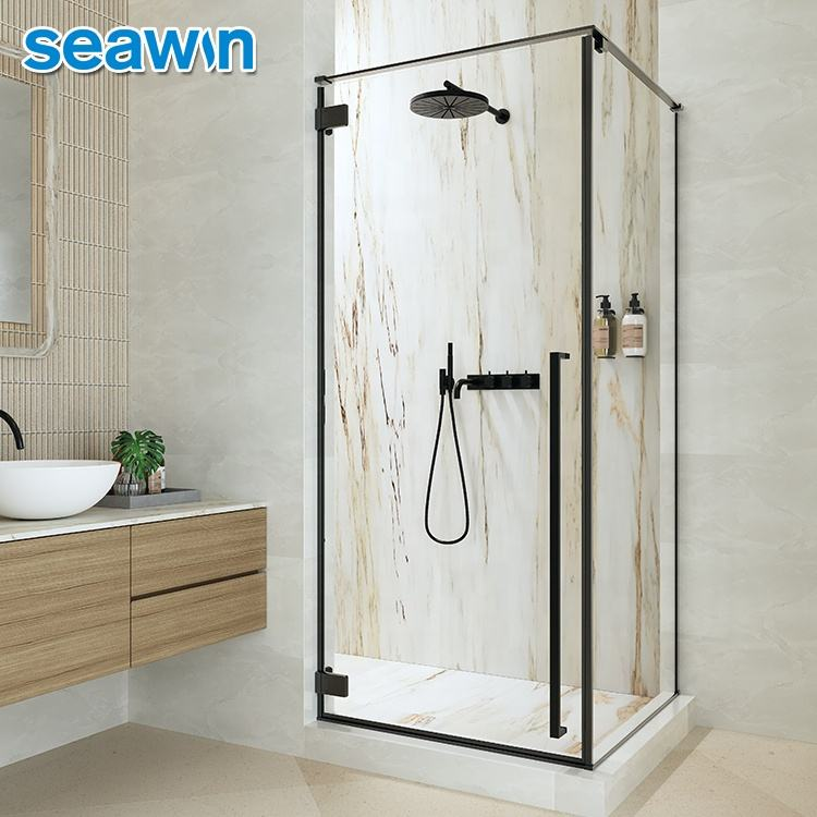 SeaWin Shower Glass Room Stainless Steel Profile Set Frame Outdoor Wall Covering Shower Cabin