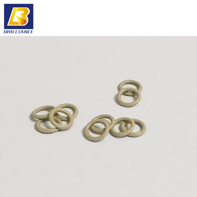 Custom Molding Conductive Silicone Rubber O Ring,Die forming O-ring with diameter of 1.35mm,round silicone gasket