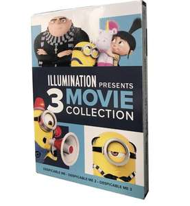 2020 Christmas gift illumination presents 3 movie Collection CD box sets dvd movies for Despicable Me 1&2&3 DHL FREE SHIP