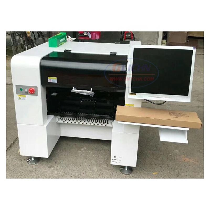 SMT production line desktop Pick and Place Machine