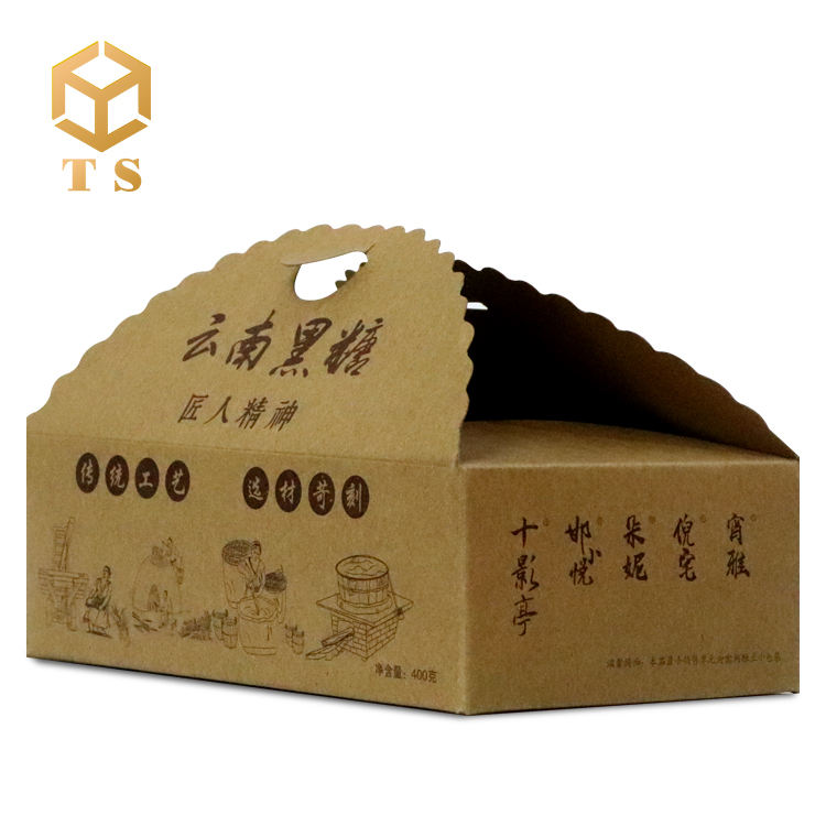Packaging Customization [ Packaging Cake ] Gift Cardboard Boxes Eco Friendly Customized Packaging Printed Art Cardboard Paper Kraft Gift Food Cake Box With Lid