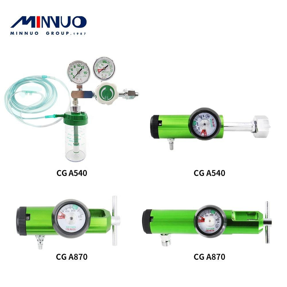 Regulator Hot Sale High Quality Low Price Hospital Digital Medical Oxygen Regulator With Flowmeter Humidifier