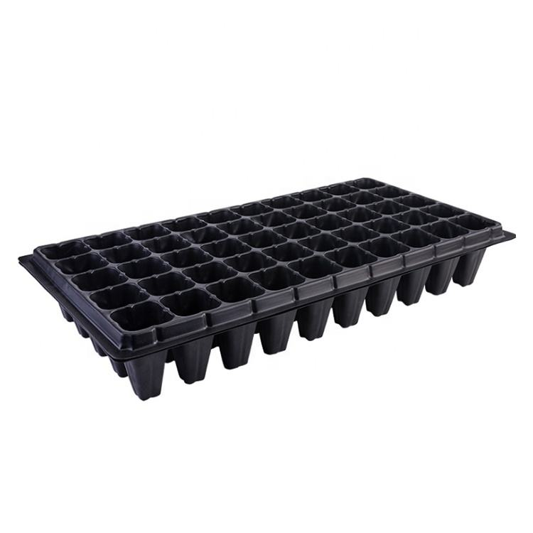 Plastic 50 Holes Nursery Deep Plate Seeding For Seedling Tray