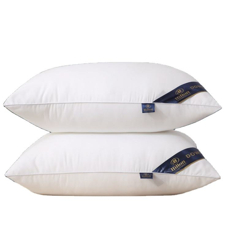 Hot Sale Cheap Wholesale Cotton Cover 5 Star Hotel Pillow For Hilton