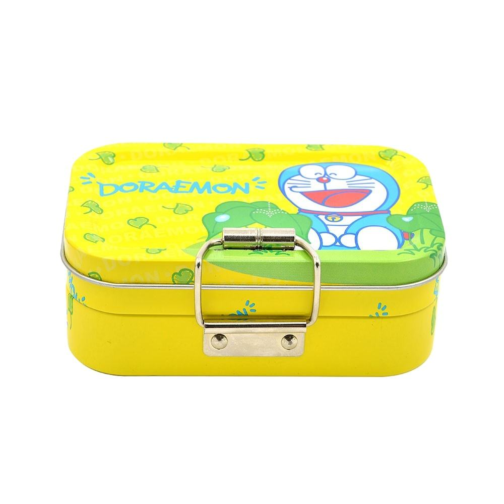 Portable Empty Small Pans Storage Artist Paint Case Tin Solid Portable Empty Small 12 / 24 Pans Storage Artist Paint Case Tin So