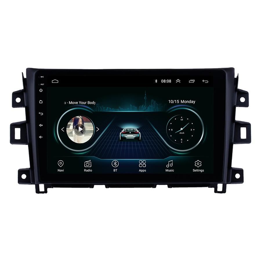 Android 9,1 Für NISSAN NAVARA Frontier NP300 2011 <span class=keywords><strong>2012</strong></span> 2013 - 2016 Multimedia Stereo Auto DVD Player Navigation GPS Radio