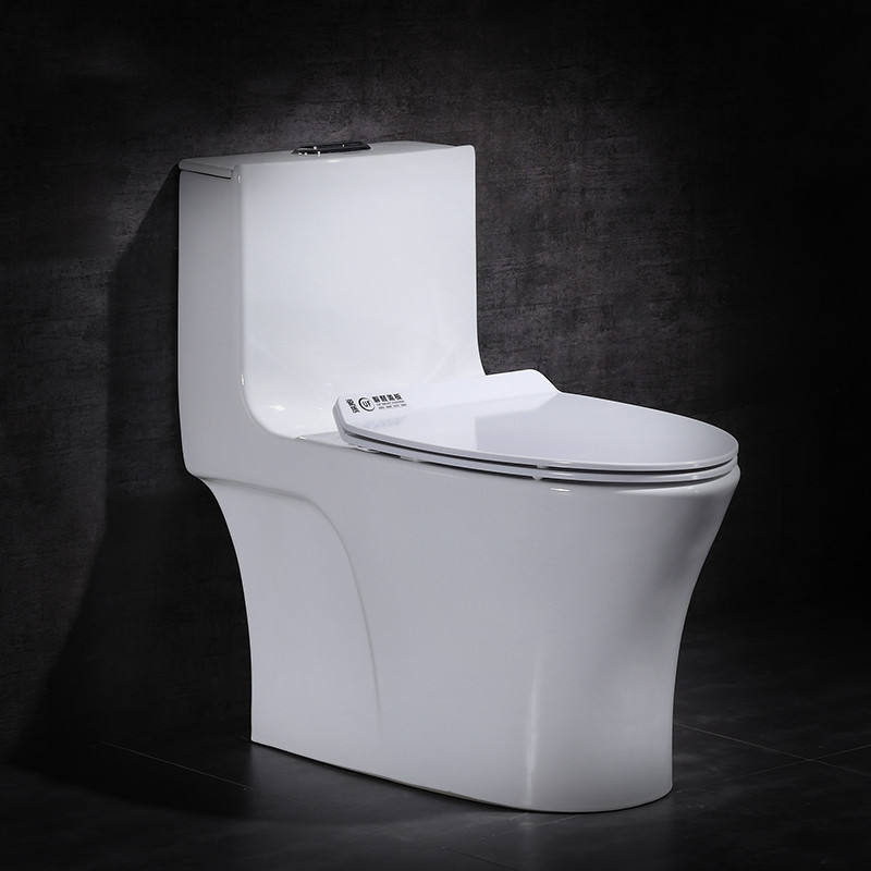 Sanitary Ware Wholesales Bathroom S-Trap Ceramic One Piece Chinese Wc Toilet Bowl