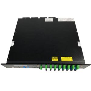 FTTH 1310 1490 1550nm Amplifier Fiber Optic 4 8 16 32 port EDFA WDM