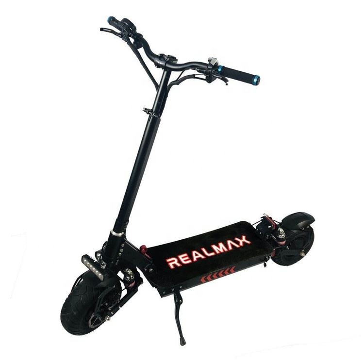 2020 new products most popular folded two wheel 13 inch 8000w electric scooter for adults