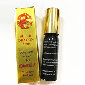 Super Dragon 6000 ejaculation delay spray for men 12ml