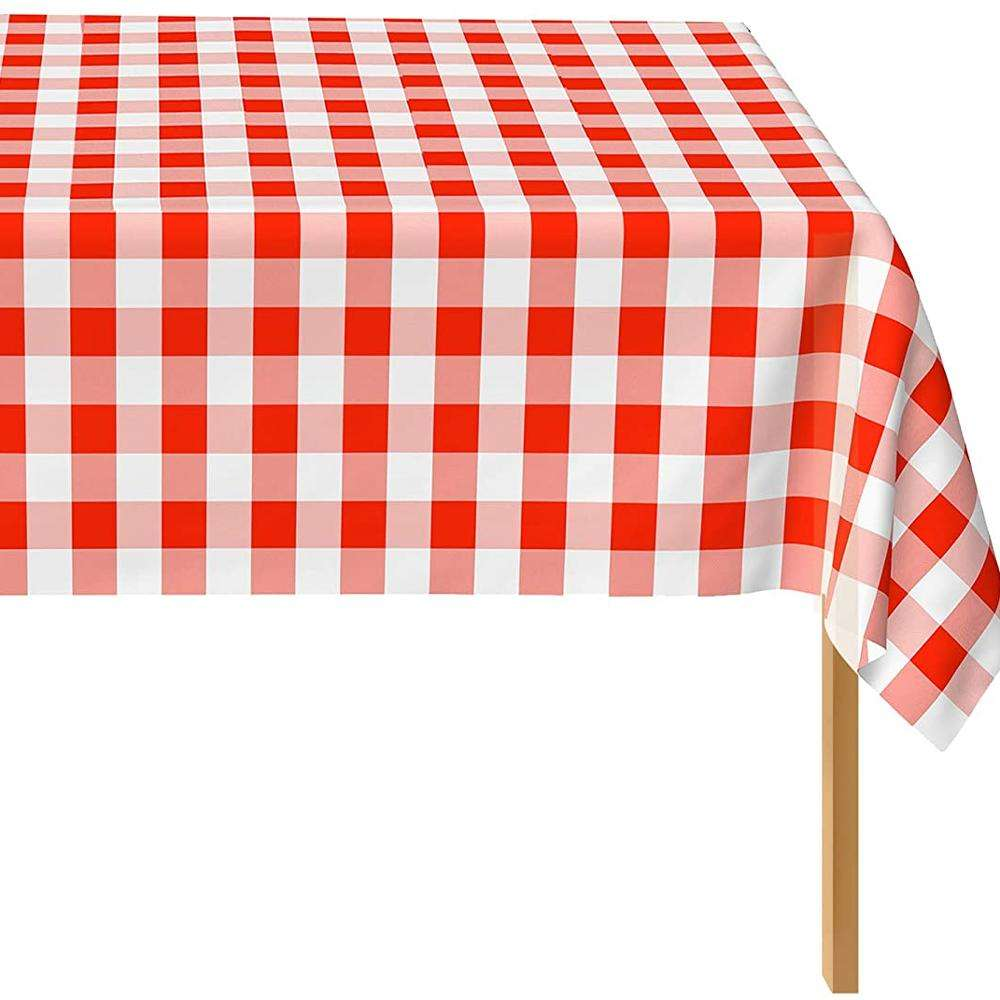 Wholesale Best Selling Party PE Customized Plastic Disposable Waterproof Tablecloth
