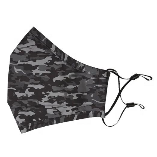 Ready to ship Camo Style Mouth mask reusable warm cotton face mask with adjustable straps
