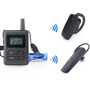 High Audio Quality Wireless Walkie Talkie Tour Guide System