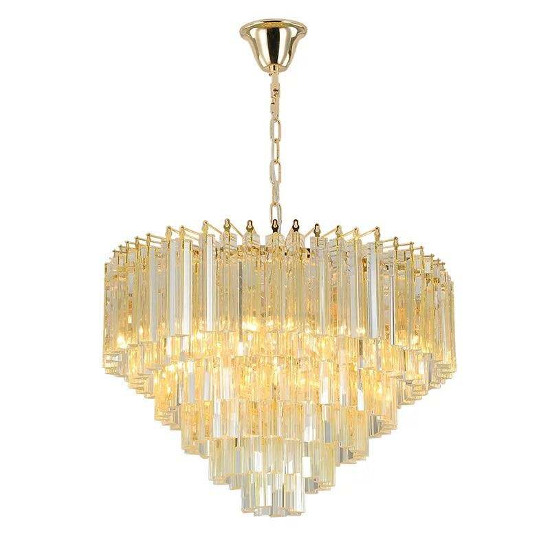 China Supplier High Quality Crystal Ball Chandelier Spare Parts Modern Acrylic Pendant Lighting