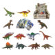 with name card brinquedos 12 Dinosaur assorted plastic solid dinosaur toy for kids