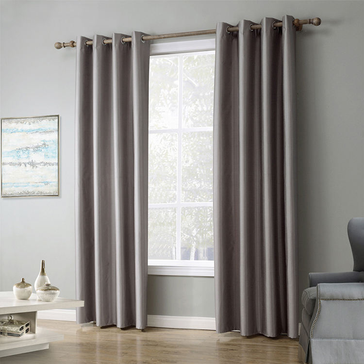 Oem Low Moq Bedroom Window Curtains Burgundy Long Blackout Curtain For A Church