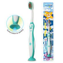 New children and kids toothbrush with soft bristles & attractive animal shaped handle