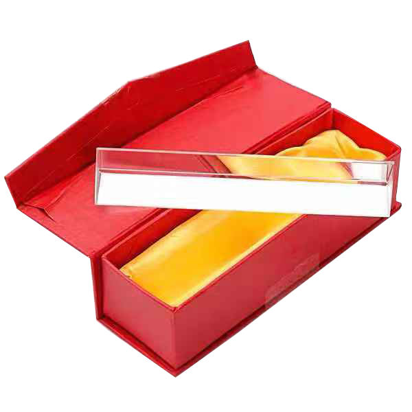 Glass equilateral triangular prism for teaching or photography