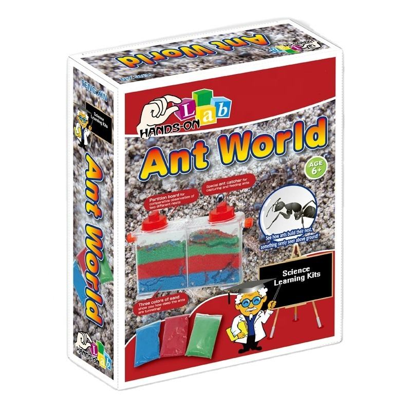 Science learning kits - ant world