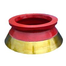 High manganese MHP spare parts H300,H400 and H500 cone crusher parts mantle and bowl liner