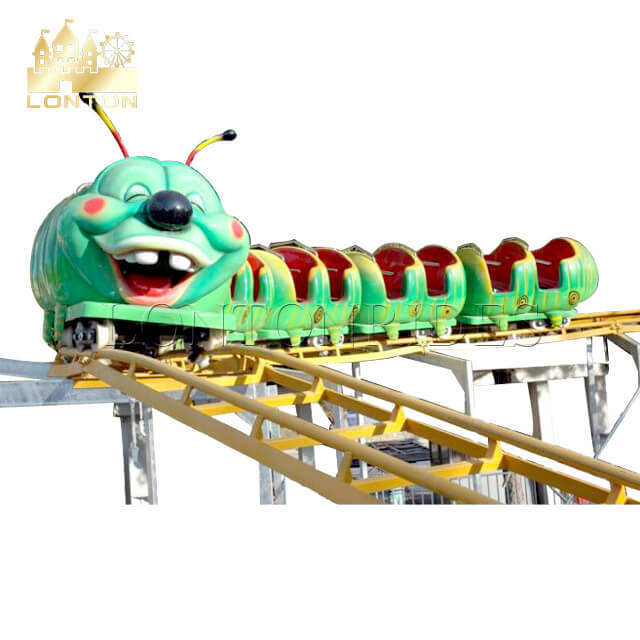 Kids outdoor theme park rides family roller coaster rides for sale
