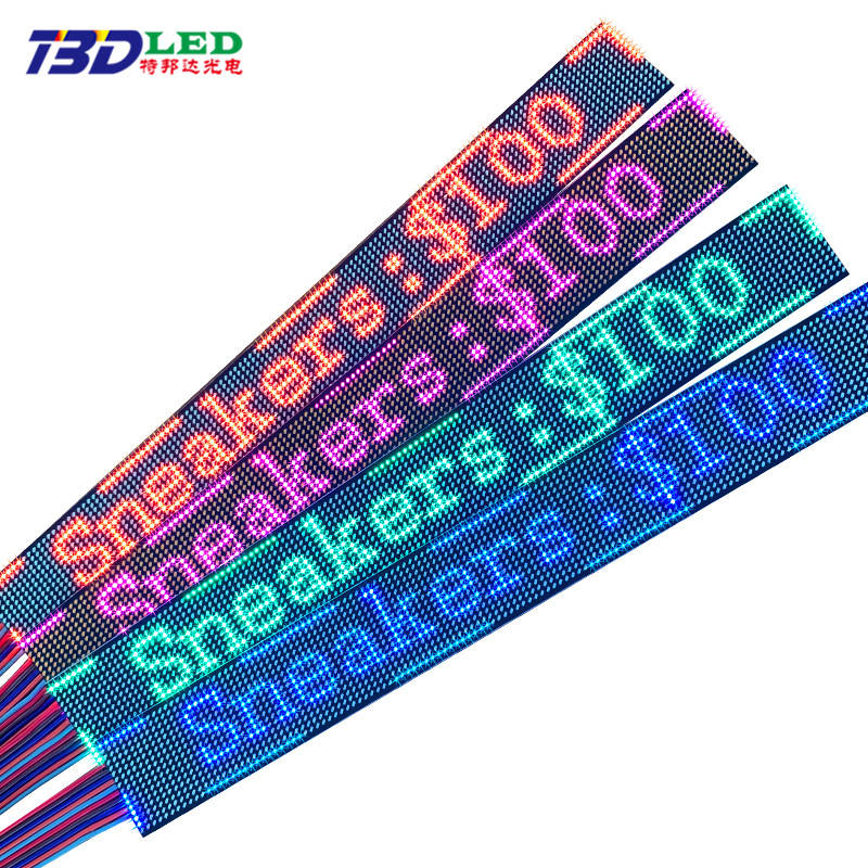 28.8*3.5 CM P2 Shelf Display Single Color LED Slim LED Price Tags Advertising Price Strip Screen