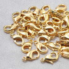 WT-RWJ009 Wholesale Jewelry Findings Accessories Lobster Clasp Real Gold plated For DIY Jewelry Clasp
