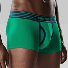 Custom Logo Best Quality Boxer Shorts Cotton Underwear For men