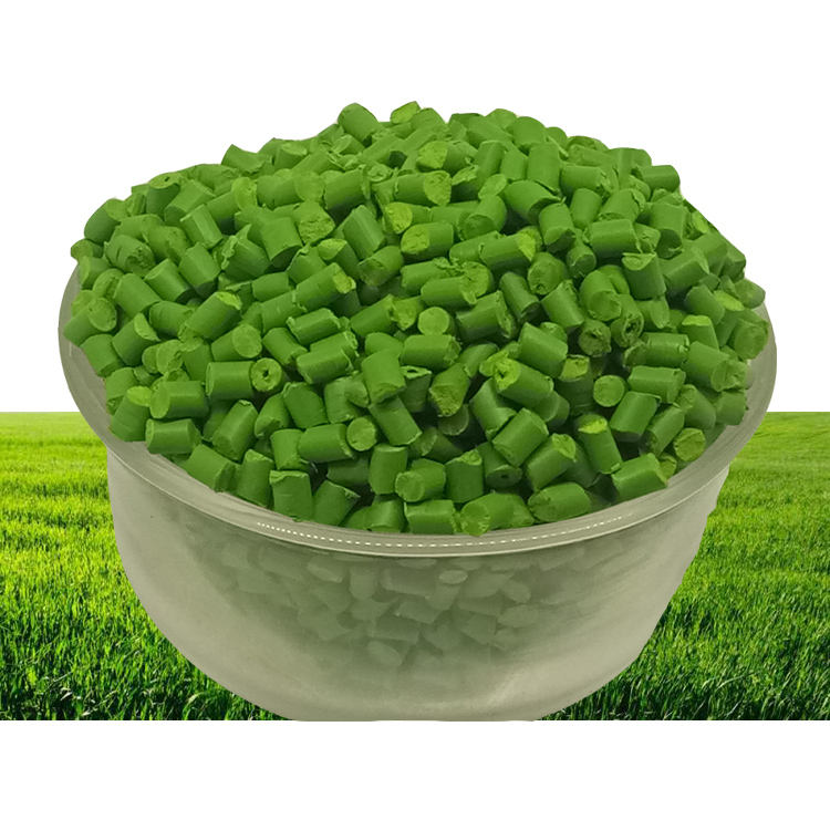Manufacturers Wholesale Custom PP PET PC PE Plastic Granules Light Green Masterbatch for Injection Molding