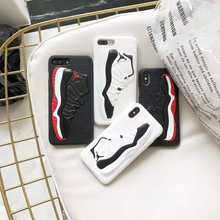 Hot Sale Factory Direct Fashion 3d Sneaker Back Phone Case For NBA Basketball Designs