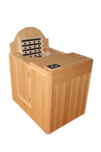 Hot barrel sauna heater room suit for home use