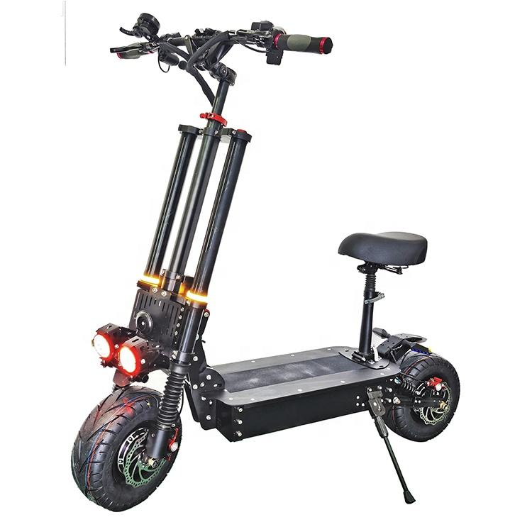 2020 China Wholesale REALMAX 8000w 13 inch dual motor foldable electric scooter for adults