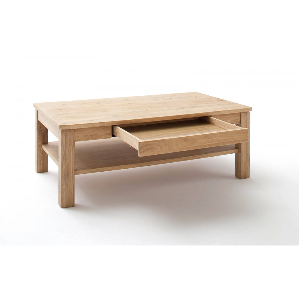 Modern living room small natural oak wood coffee table mesa de cafe