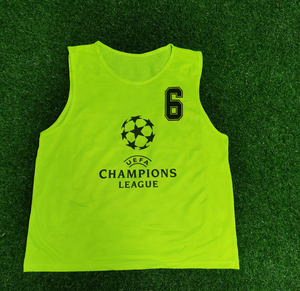 2020 High quality Quick Dry Mesh Sports Bibs Football Team Training Vest