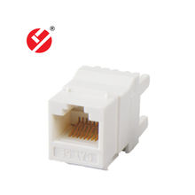 LY-KJ5-06 Network High quality Rj45 cat5e180 Degree keystone jack modules