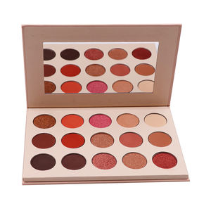 OEM/ODM Label Cosmetics 15 Colors Cosmetics make your own brand eye makeup matte eyeshadow