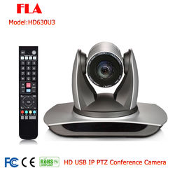 HD 1080P/60 30X Zoom Network Video Conference PTZ IP USB Camera Live Streaming