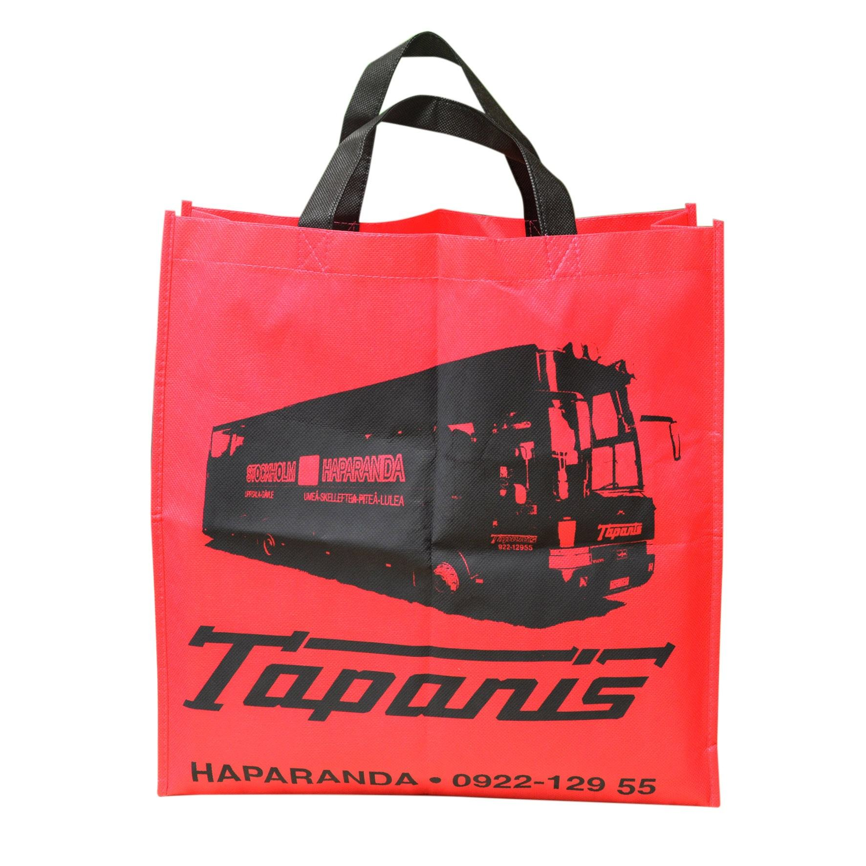 Printing Non-Woven Fabric Bag Recycle Reduce Foldable D Cut Welding Hand Planting Storage Bags