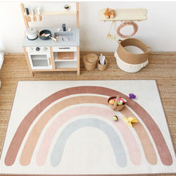 INS hot sale  rainbow-patterned floor mat baby play mat