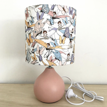 China supplier unique lampshade ceramic bedroom decoration lighting lamp for home decor