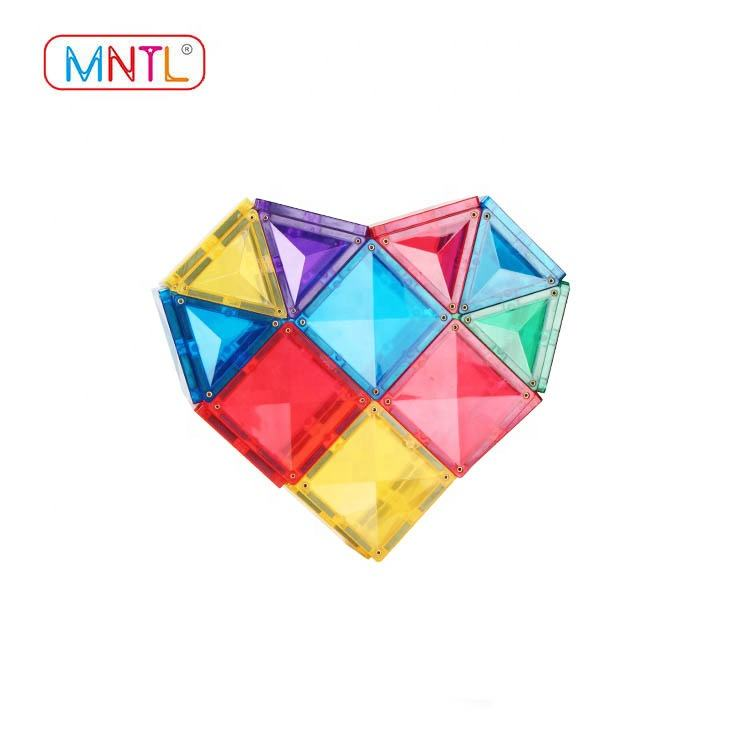 MNTL magnetic blocks kids magnet construction set educational magnetic tile toys