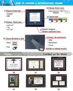 Simple Elegant Graduation Diploma Picture Frame  Picture and University Name Card  Graduation Present