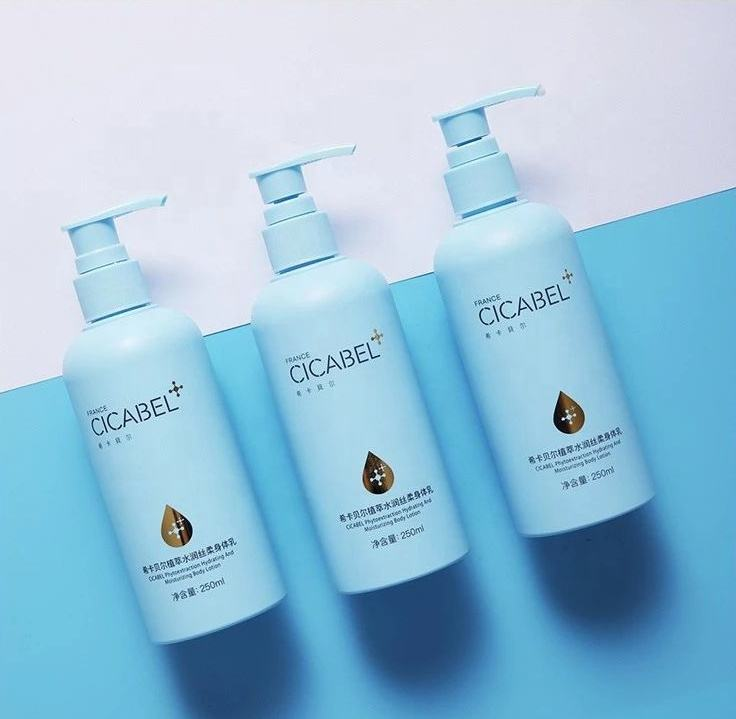 CICABEL Milk White HydratingとMoisturizing Body Lotion 250ミリリットルLavender Natural Fragrance