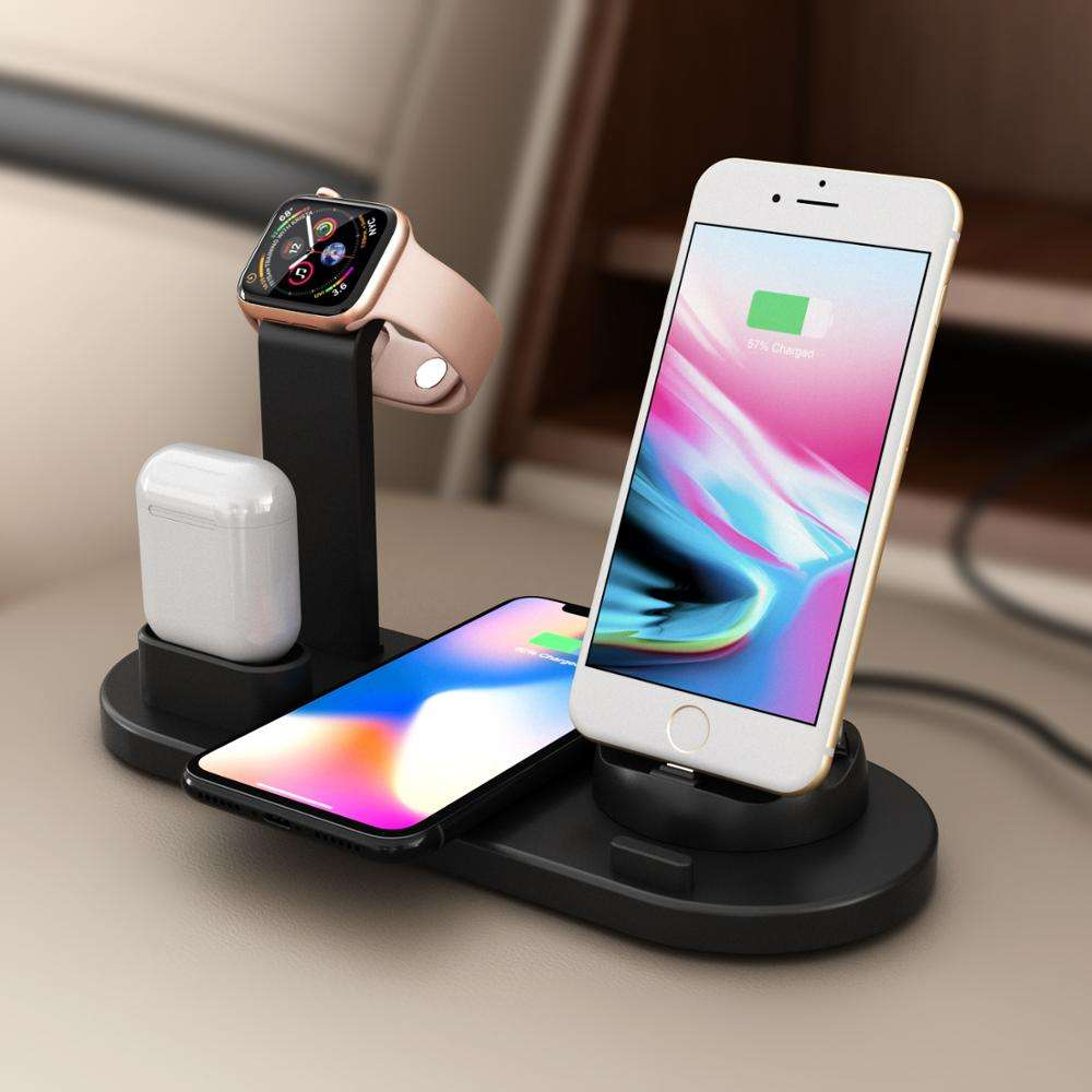 Wireless Charging Stand Mobile Charger For iPhone For Charger Stand