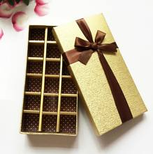 Custom Logo Chocolate Paper Box valentine Christmas Birthday Gifts Packing Storage Boxes