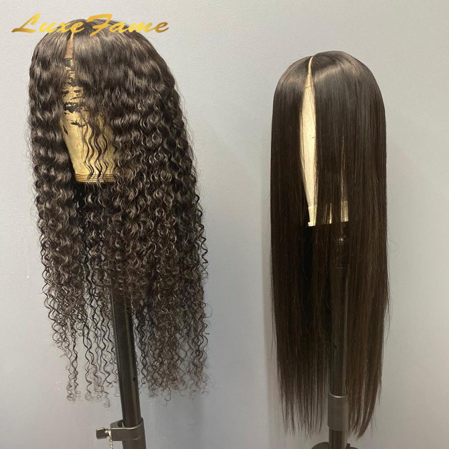 Luxefame Brazilian Human Hair Lace Front Wig,Straight Virgin Hair Lace Wig For Black Women,Pre Pluck Lace Wig With Baby Hair