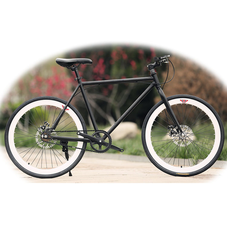 New 26inch fixie bike bicycle DIY color wholesale 700c fixed gear bicycle bike for sale from China low price