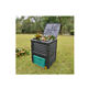 VERTAK wholesale 300L outdoor plastic collapsible garden fertilizer worm compost bin