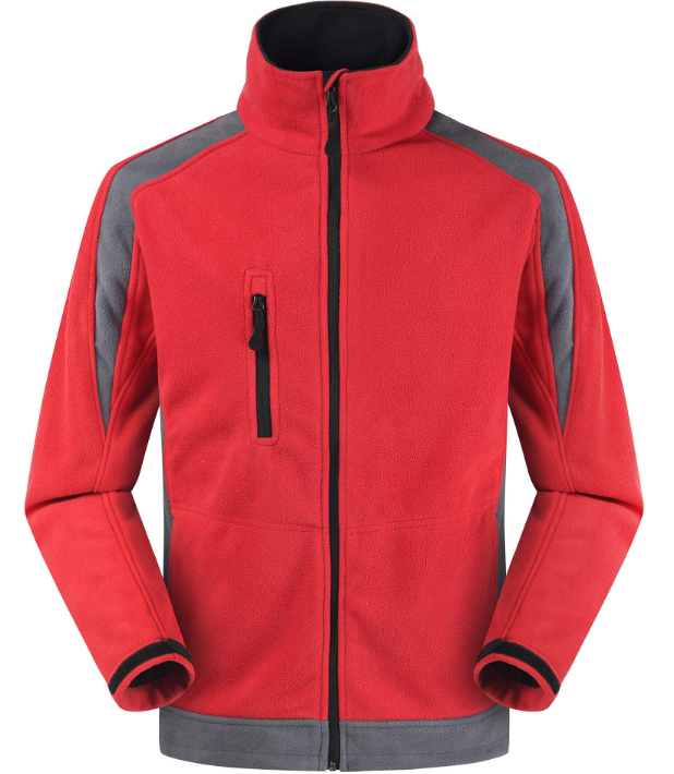 customize Amazon wholesale fleece jacket windproof jacket outdoor jacket sell well